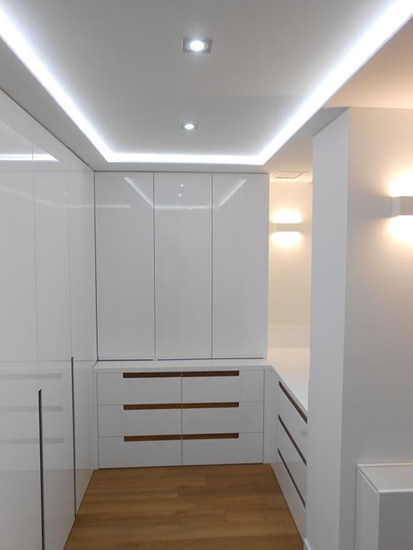 vestidor lacado blanco